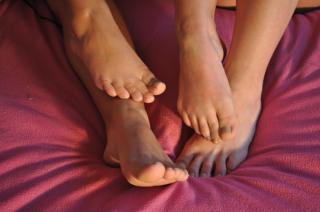 Sexy Latina Füße