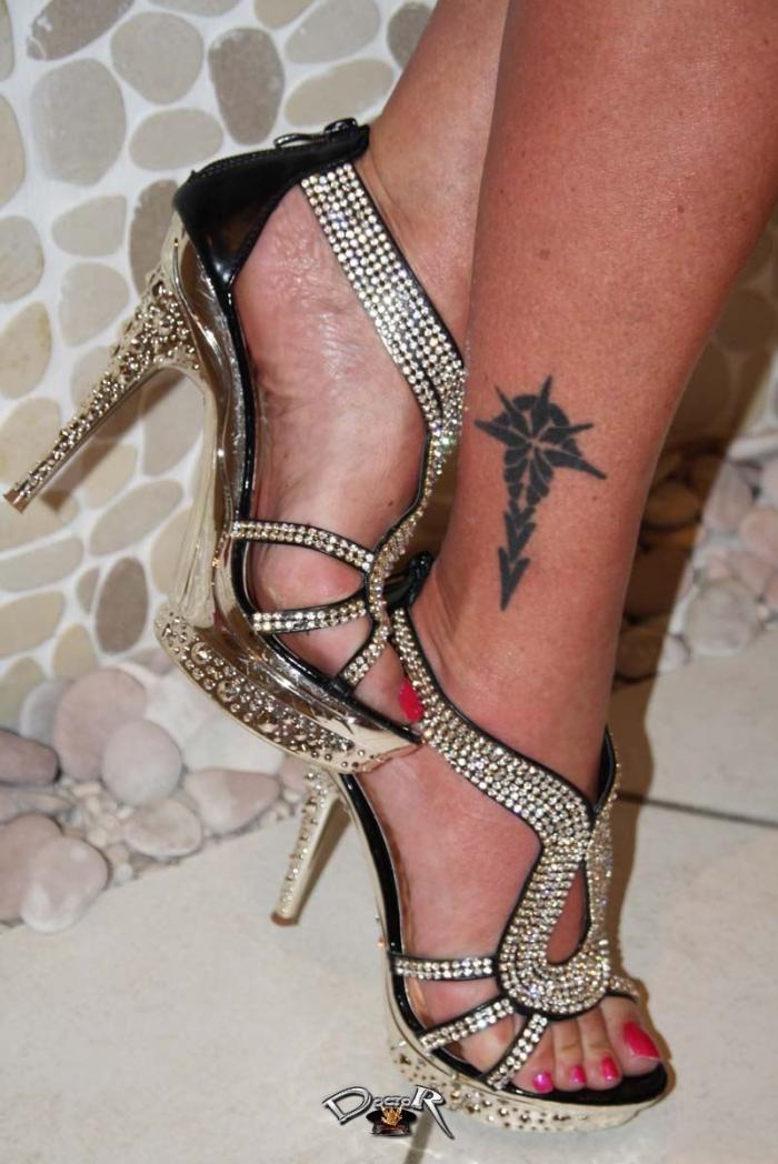 Schuhe und Füße