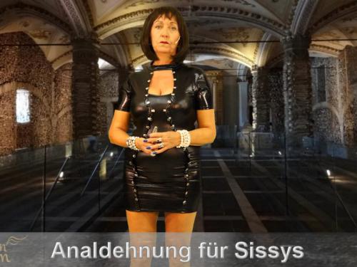 Analdehnung für Sissy Sklaven