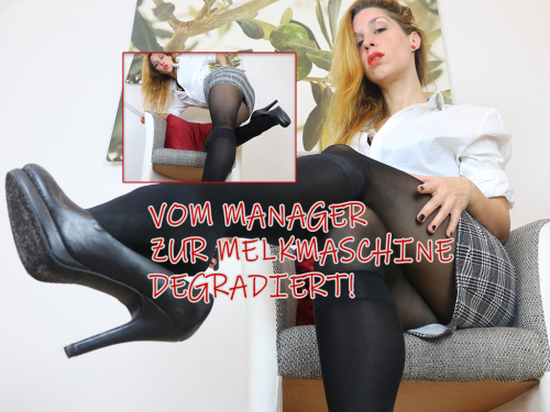 Vom Manager zur Melkmaschine degradiert