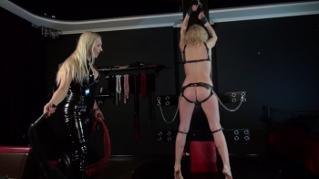 Mistress Marta - Whipping my Slave Girl Part 2
