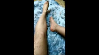 Halterlose Strümpfe, High Heels