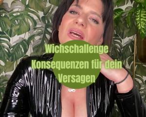Wichs-Challenge Bestrafung