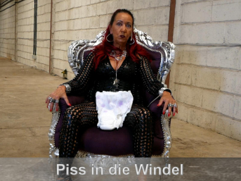 Piss in die Windel