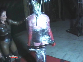 Lady Pascal - Wrapped and whipped Part 2