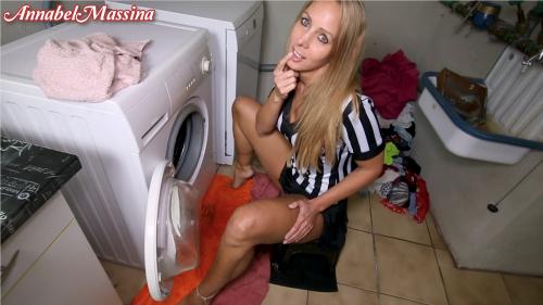 Freipiss Pinkeln in fremde Waschmaschine