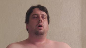 Nahaufnahmen meines Gesichts beim Orgasmus