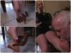 Dreckige Füße während der Züchtigung (Teil 1)