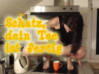 Schatz, dein Tee ist fertig