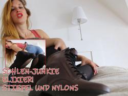 Sohlenjunkie Elixier Stiefel und Nylon Anbetung