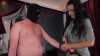 Lady Luciana - Uniformfetisch - Ballbusting Part 1
