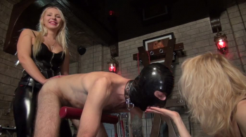 Mistress Marta and the Strap-on Slave