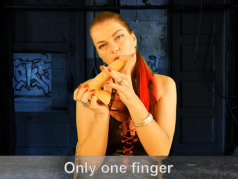 One Finger to Finish