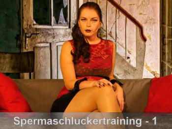 Spermaschluckertraining Part 1 - Precum