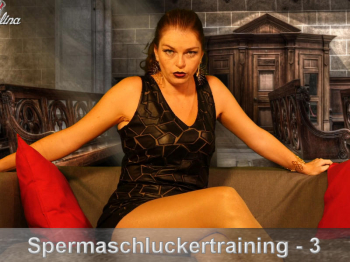 Spermaschluckertraining Part 3 - Selbstloses Festmal