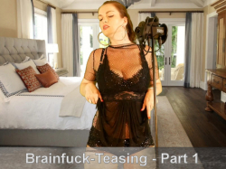 ASMR-Teasing-Brainfuck - Die Brüste Deiner Herrin 1-3
