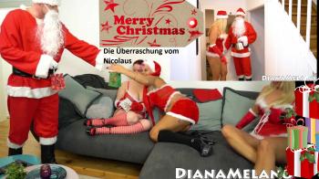 Drei rasierte  Fick ****n für den Nicolaus !!