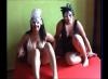 mein allererster Gangbang mit meiner Freundin Sina - 1