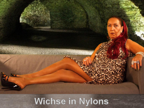 Wichse in Nylons