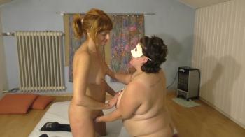Zwei Ladys unter sich