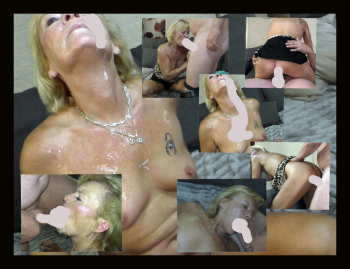 Spermaschlacht mit Angie
