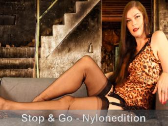 Stop & Go Wichsanleitung - Vintage-Nylon-Stil