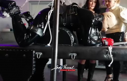 Lady Pascal - CBT in heavy Bondage (part1) mit Lady Mercedes
