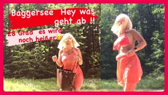 Fremdficker, untreuen Ehemann am Baggersee abgeritten