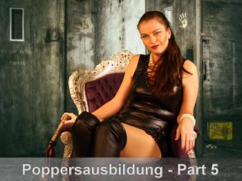 Poppers-Sklavenausbildung # 5 Mehrere Fläschchen