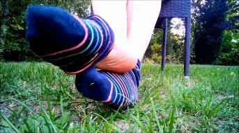 Socken-und Fußfetisch