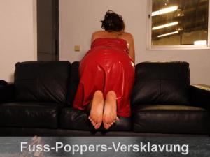 Fuss-Poppers-Versklavung