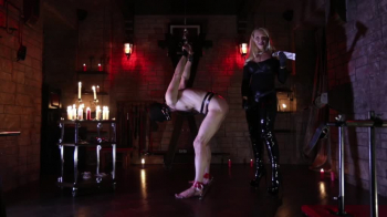 Mistress Marta - Dark Dungeon fuck