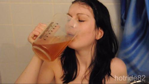 Reingepisst und ausgetrunken
