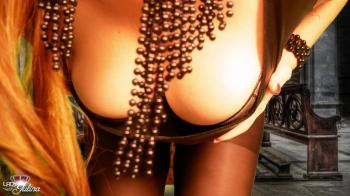 Qualmelkung des Keuschling durch Tittyteasing