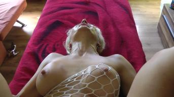 Massagebank durchgefickt
