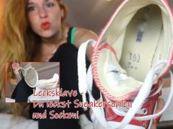 Lecksklave - Du leckst Sneaker Sohlen und Socken